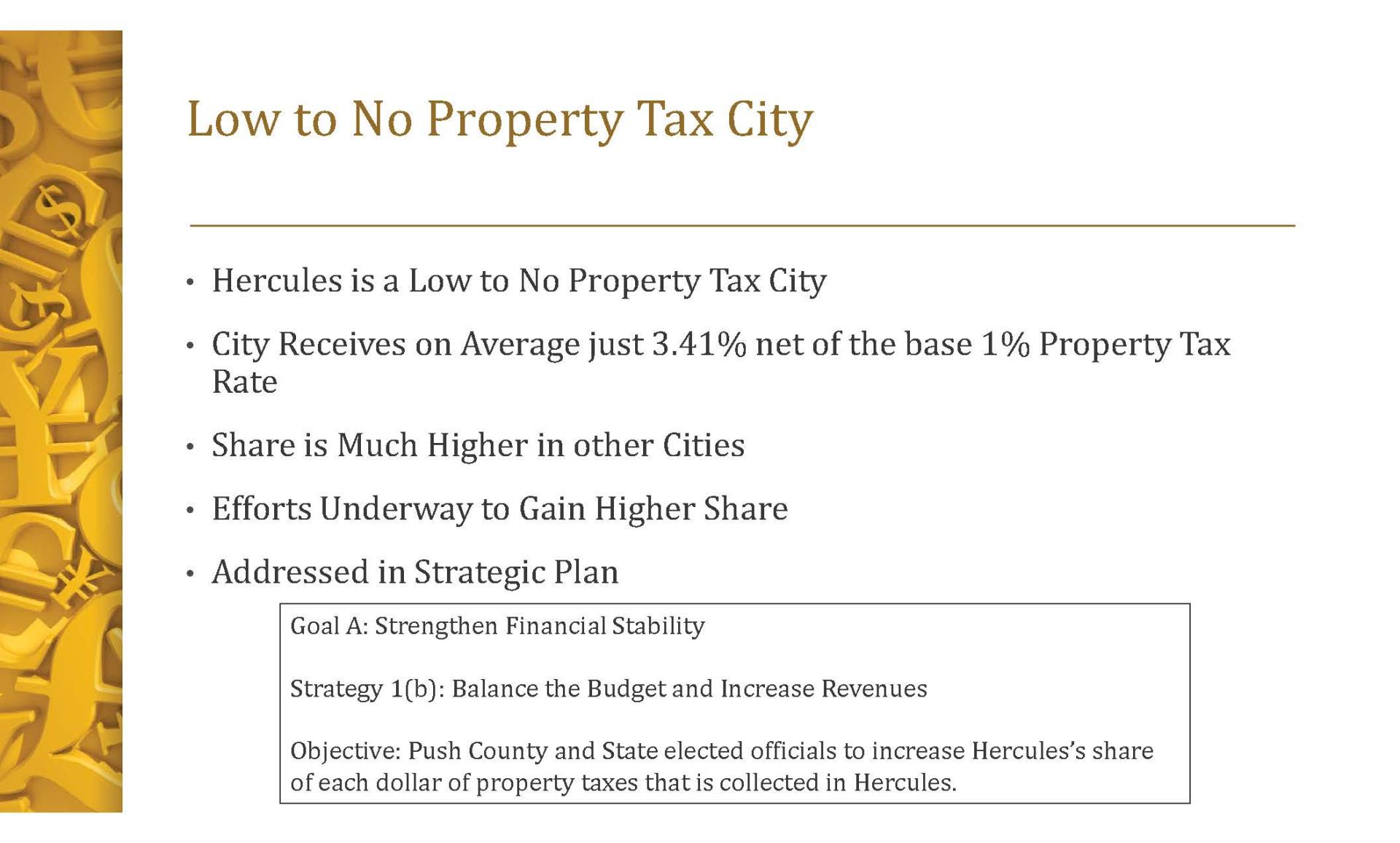 Property Tax Update