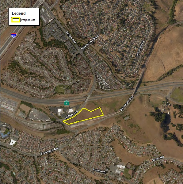 Lorenzini Self-Storage & Automotive - Project Location Map