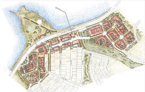 Updated Illustrative Master Plan for Waterfront
