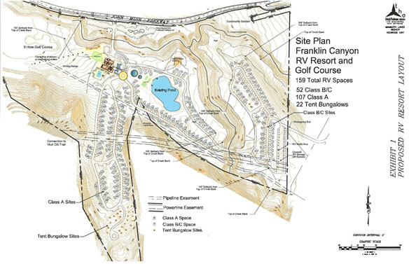 Franklin Canyon Site Plan